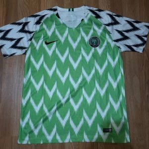 World Cup Nigerian 2018 Home Soccer Jersey Size L